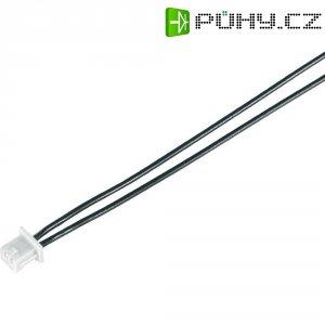 Napájecí kabel Modelcraft, zásuvka Minimum RM 1,27 mm, 80 mm, 0,08 mm²