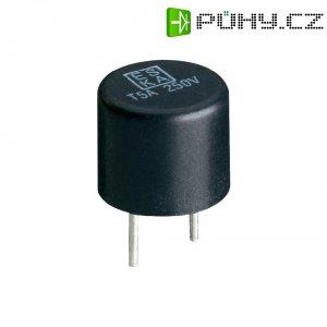 Miniaturní pojistka ESKA pomalá 887008, 250 V, 0,125 A, 8,4 mm x 7.6 mm