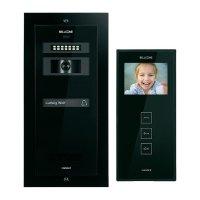 Domácí videotelefon Bellcome, 1 rodina, černá