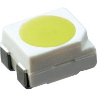 SMD LED PLCC4 OSRAM, LO E6SF-ABCB-24-1, 50 mA, 2,15 V, 120 °, 1400 mcd, oranžová