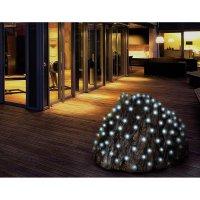 Venkovní LED síť Polarlite PNL-01-002, 200 LED, 3 x 2 m, do sítě, studená bílá