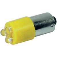 LED žárovka BA9s CML, 18620352, 24 V, 340 mcd, žlutá