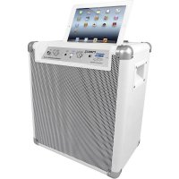 Přenosný PA reprobox ION Audio Block Rocker Bluetooth iPA66, 18/22 W, bílá
