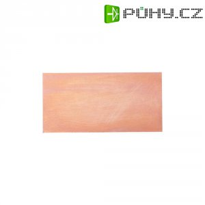 Nepotažený základní materiál Proma, tvrzený papír, jednostranný, 100 x 100 x 1,5 mm