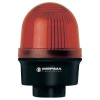 Bleskové světlo Werma, 209.120.55, 24 V/DC, 100 mA, IP65, červená