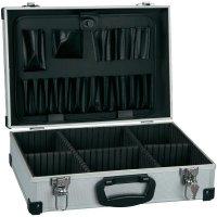 Hliníkový kufr na nářadí Alutec 61000, (d x š x v) 430 x 315 x 140 mm, stříbrná