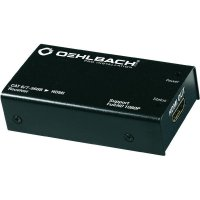 Adaptér Oehlbach PRO IN HDMI ®-LAN CAT6/7-568B ETHERNET