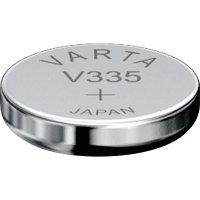 Knoflíková baterie 335 Varta, SR512, na bázi oxidu stříbra