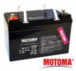 Olověné akumulátory pro elektromotory