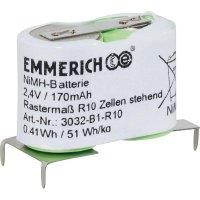 Speciální NiMH akupack Emmerich R10 2,4 V, SLF