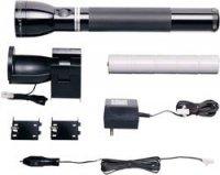 Akumulátorová svítilna Mag-Lite, RE4019, 230 V/50 Hz, 12 V/DC, halogenová, černá