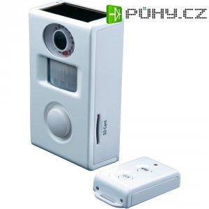 Solární alarm s kamerou a dálkovým ovladáním Cordes, CC-410, 640 x 480 px, SD karta