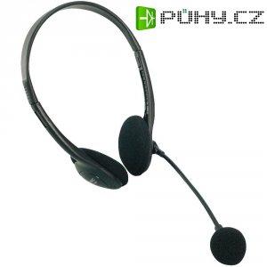 Sluchátka s mikrofonem Easy LogiLink Stereo
