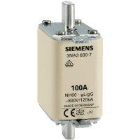 Pojistková vložka NH Siemens, vel. 000, 100 A, 3ks, 3NA3830