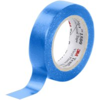 Izolační páska 3M Temflex 1500, XE003411487, 15 mm x 10 m, modrá