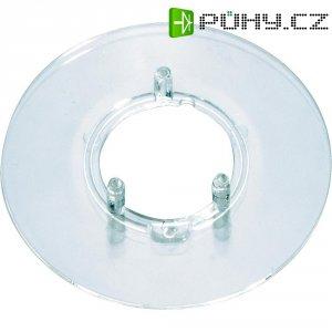 Kruhová stupnice bez označení OKW, vhodná pro knoflík Ø 23 mm, transparentní