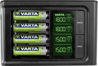 Nabíječka s LCD Varta Smart + 4x AA NiMH Ready2Use 2100 mAh