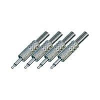 Sada kabelových konektorů jack (M) 3,5 mm, 4 ks