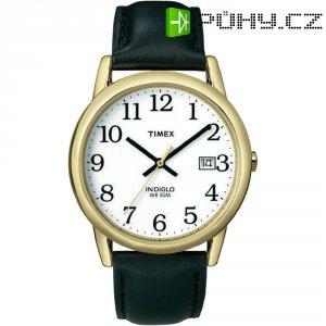 Ručičkové náramkové hodinky Timex Easy Reader, T2H291, kožený pásek