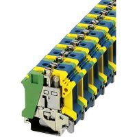 PE/N blok Phoenix Contact UIK 16-PE/N (3006234), šroubovací, 24,4 mm, zelenožlutá/modrá