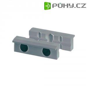 Magnetické čelisti s prizmou Heuer 108100, 100 mm, polyuretan, 2 ks