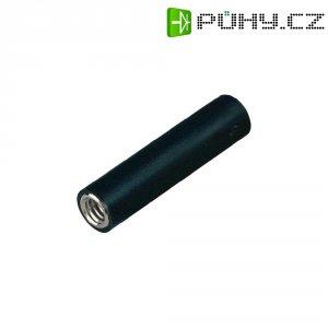 Šroubovací zásuvka 4 mm M4 MultiContact B4-E-IM4-I (23.1035-21), adaptér rovný, černá
