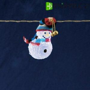 Vnitřní vánoční řetěz 8 LED, studená bílá