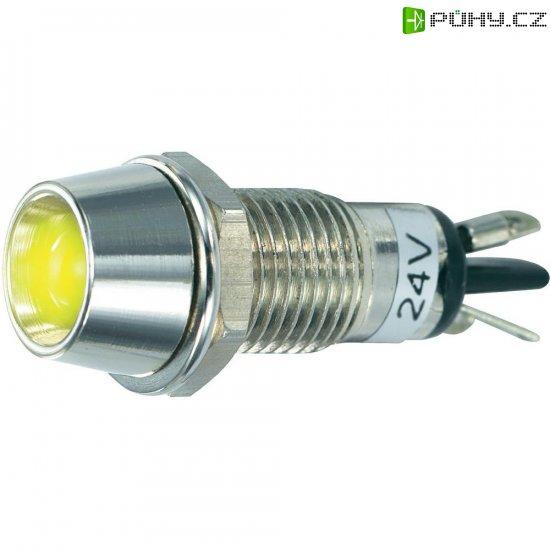 LED signálka SCI R9-115L 24 V YELLOW, vnitřní reflektor 5 mm, 24 V/DC, žlutá - Kliknutím na obrázek zavřete