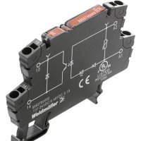 Modul optočlenu Weidmüller 8950890000, TOP 230VAC/48VDC 0,1A, vstup 230 V/AC výstup 5 - 48 V/DC/100 mA