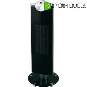 Elektrický topný ventilátor PTC Silva Homeline 890023, černá