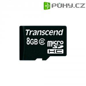 Paměťová karta microSDHC Transcend 8GB Class 2