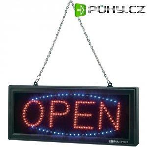 """Informační LED panel \""""Open\"""""""
