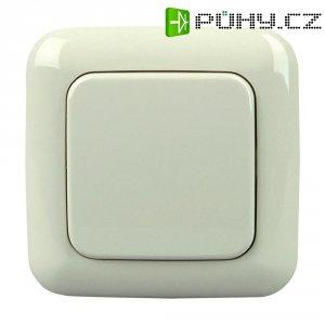 Bezdrátový nástěnný vypínač Standard 1/2 Free Control, 822701026, 1kanálový, krémová