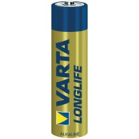 Alkalická baterie Varta Longlife, typ AAA, 10,5 mm, sada 4 ks