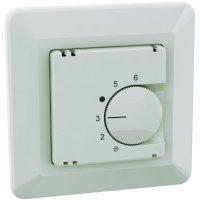 Pokojový termostat spínací/rozepínací Ehmann 6060c0000, 5 až 30 °C, bílá