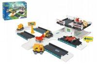 Stavebnice WADER KID CARS 3D LETIŠTĚ 3.8 m