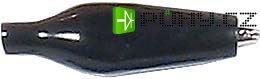 Krokosvorka izolovaná 27mm černá
