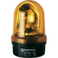 LED maják Werma Signaltechnik 885.300.78, IP65, žlutá