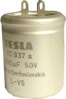 1000u/50V 35x40mm TC937a, elektrolyt. kondenzátor radiální