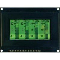 OLED displej, VGG12864Z-S003, 9,1 mm, zelená/černá