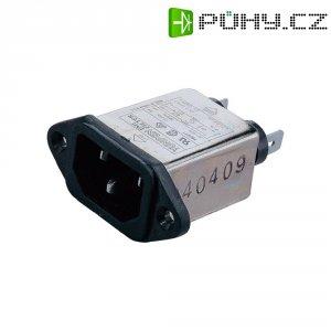 Síťový filtr Yunpen YB01A1, 2 x 3,7 mH, 125/250 V/AC, (50/60Hz), 1 A