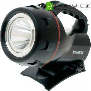 Akumulátorová ruční LED svítilna Varta 18682101401, 3 W, černá