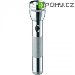 Kapesní LED svítilna Mag-Lite 2-D-Cell Pro, ST2P106, 3 V, stříbrná