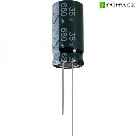 Kondenzátor elektrolytický Jianghai ECR1HGC471MFF501225, 470 µF, 50 V, 20 %, 25 x 12,5 mm - Kliknutím na obrázek zavřete