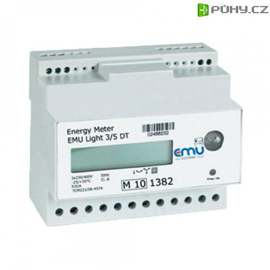 Digitální elektroměr EMU Light 3/5 ST M-Bus, na DIN lištu - Kliknutím na obrázek zavřete