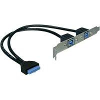 Připojovací kabel Delock USB 3.0, 19-pinový, 0,3 m