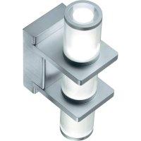 Nástěnné LED svítidlo Vallet, 3x 1 W, studená bílá