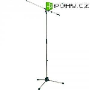 Stativ na mikrofon K&M 21020-300-01, stříbrná
