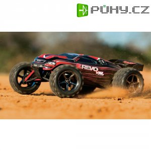 RC model Brushless Truggy Traxxas E-Revo, 1:16, 4WD, RtR 2.4 GHz