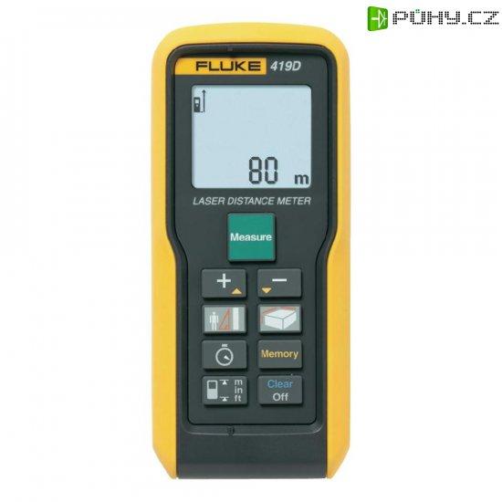 Laserový měřič vzdálenosti Fluke 419D, rozsah měření (max.) 80 m - Kliknutím na obrázek zavřete